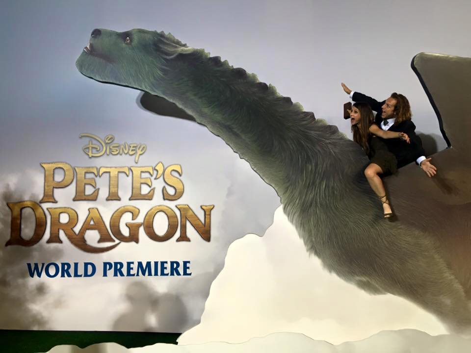 Andrew Tinker Pete's Dragon World Premiere (Los Angeles, CA) // Aug 2016
