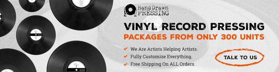 Hand Drawn To Launch Most Advanced Vinyl Pressing
