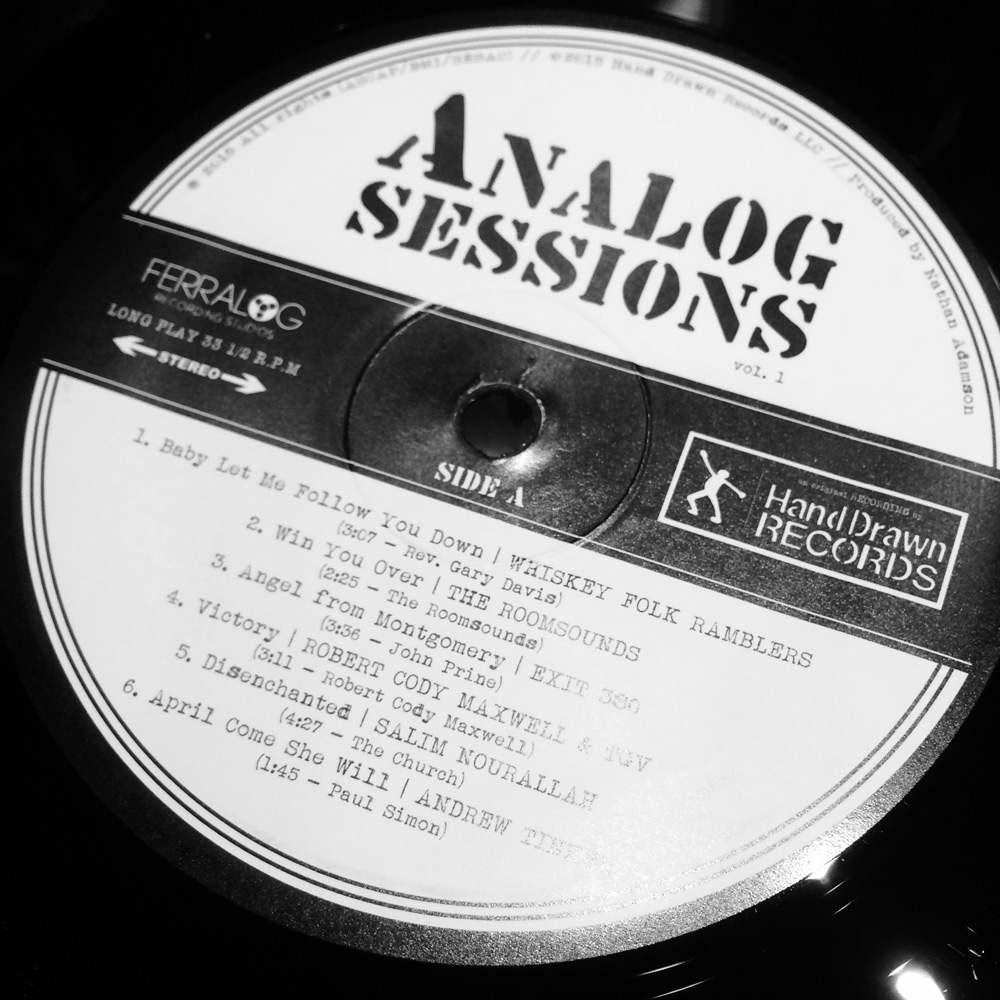 """Analog Sessions, Volume 1"" by Various Artists // Hand Drawn Records // SIDE A"