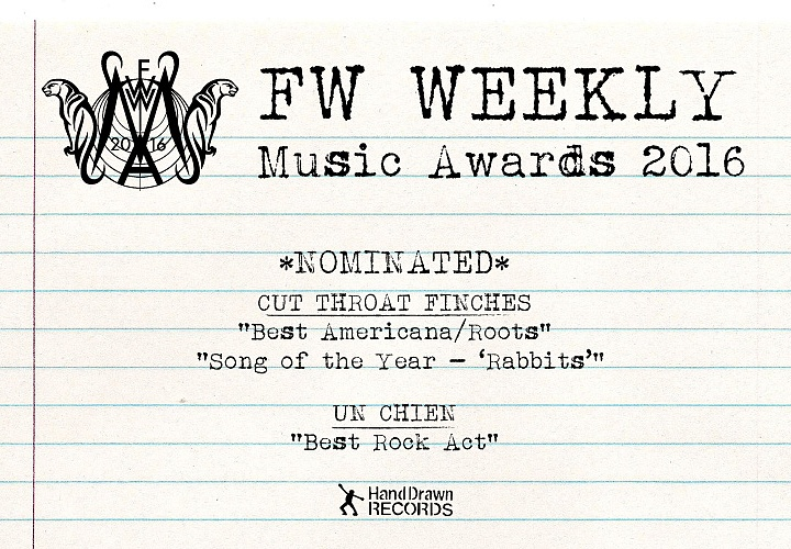 FW Weekly Music Awards 2016
