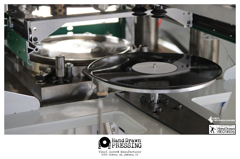 """Hand Drawn Pressing, """"Most Advanced Vinyl Pressing Facility in the World,"""" Opening this Fall // www.handdrawnpressing.com // Photo by Dylan Liaster, Viryl Technologies"""