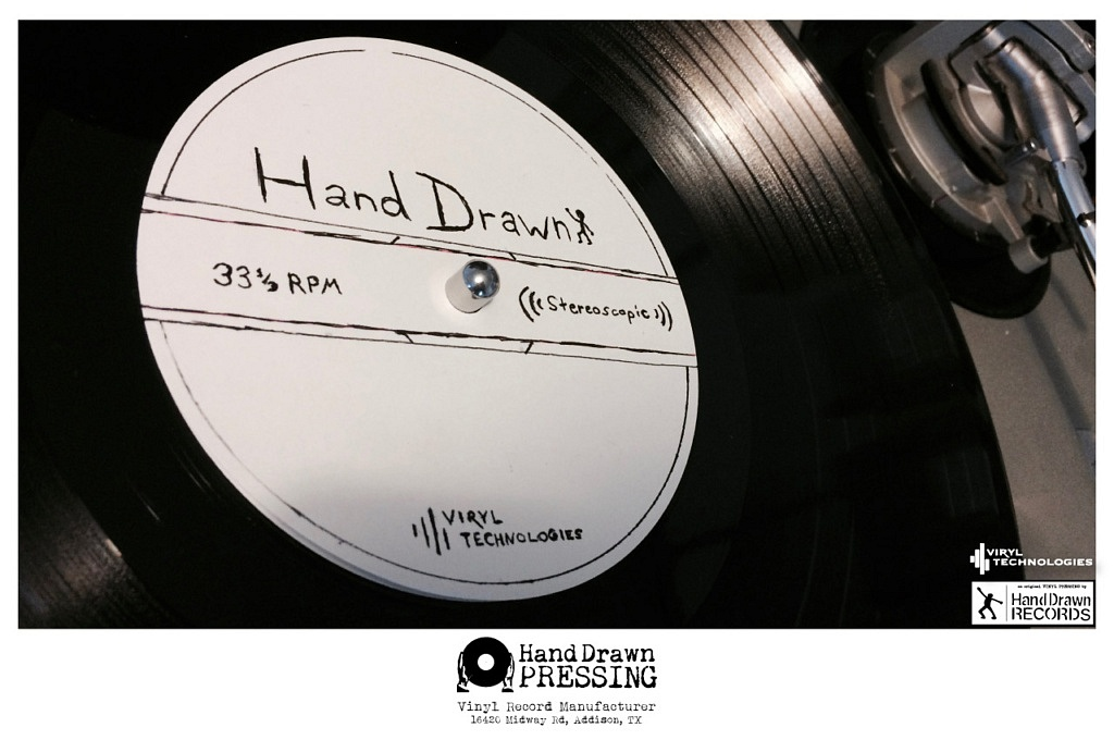 "Hand Drawn Pressing, ""Most Advanced Vinyl Pressing Facility in the World,"" Opening this Fall // www.handdrawnpressing.com // Photo by Dustin Blocker"