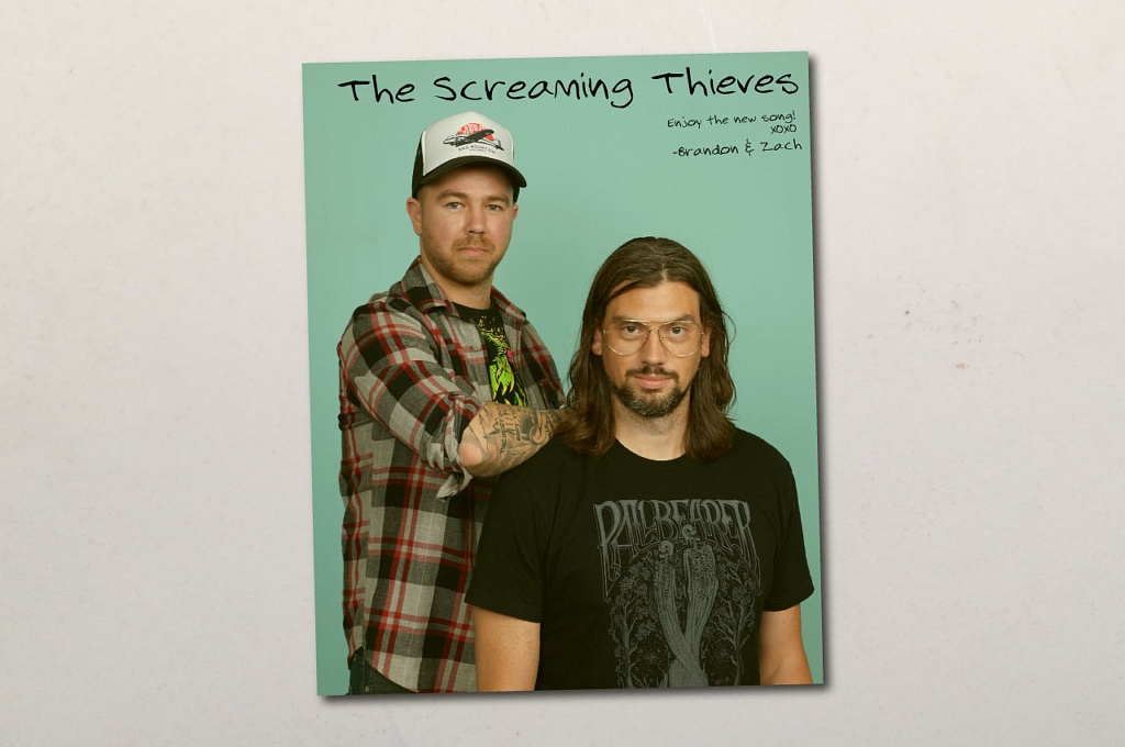 The Screaming Thieves - XOXO // Hand Drawn Records