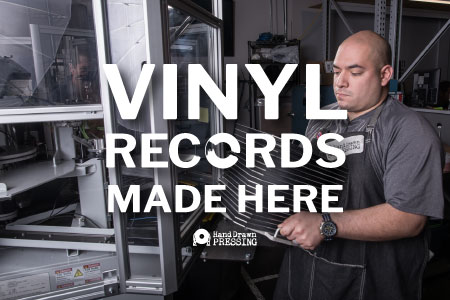 Hand Drawn Records Independent Label And Vinyl Record